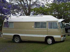 1973 Toyota Coaster MotorHome 5 speed $6995 reduced. Birkdale Redland Area Preview