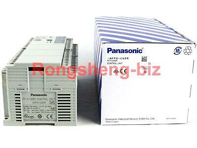 New Panasonic Afpx-c60r Compact Brick Style Plc Controller Output Control Unit