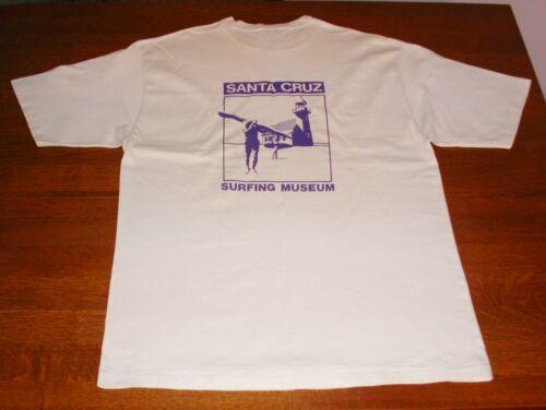 Vintage Santa Cruz Surfing Museum T Shirt XL
