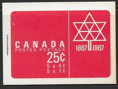 CANADA - SCOTT BK 56 (454c) - VFNH - CENTENNIAL DEFINITIVES - 1968(Q18)