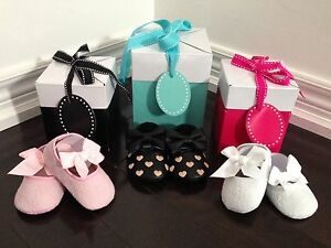 New in box beautiful baby shoes!