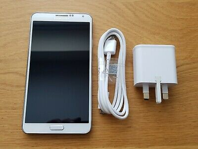 Samsung Galaxy Note 3 SM-N9005 in White, 32Gb, Unlocked, 4G, Great Condition