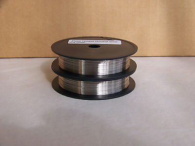 Pure Nickel Wire Non Resistance Wire  28 Awg 100 Ft.