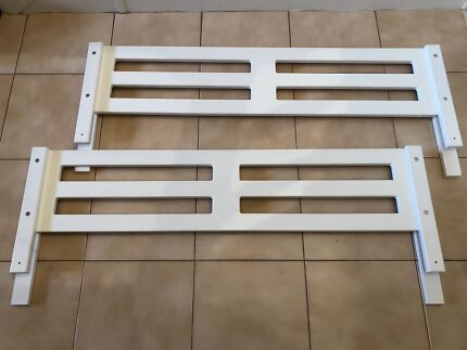 Timber Bed Safety Rails