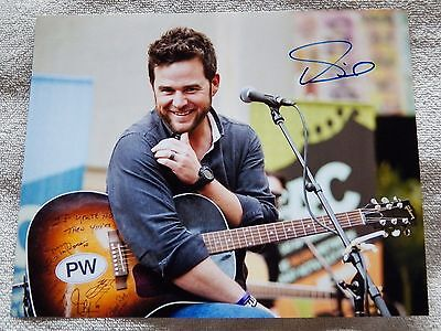 Country Music Star David Nail Signed 8x10 Photo Autograph Auto Signature