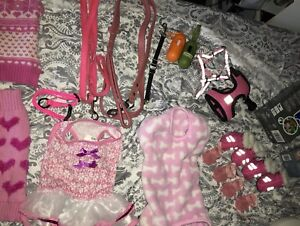 Girl dog accessories (very small)