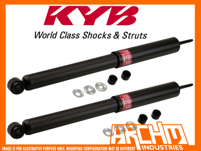 REAR KYB SHOCK ABSORBERS FOR SUBARU L SERIES AC5 01/1987-12/1994