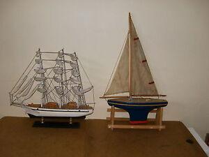 Ancien bateau de bassin voilier nova borda tirot voilier d co en bois ebay - Voilier de bassin ancien nanterre ...