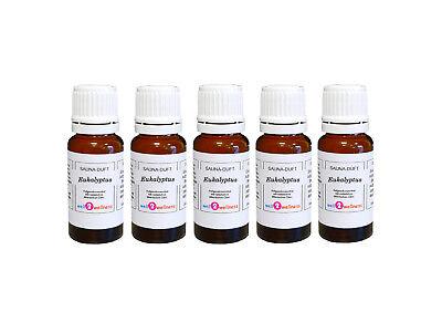 5X Aroma Sauna Eucalipto 15ML / Aceite de / Auguss / Esencias...