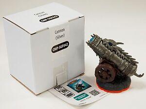 Skylanders Giants DRAGONFIRE CANNON SILVER Figure/Code NEW in Box Wii-U PS3 PS4