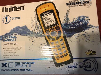 Uniden Xdect 8305WP Waterproof Handset