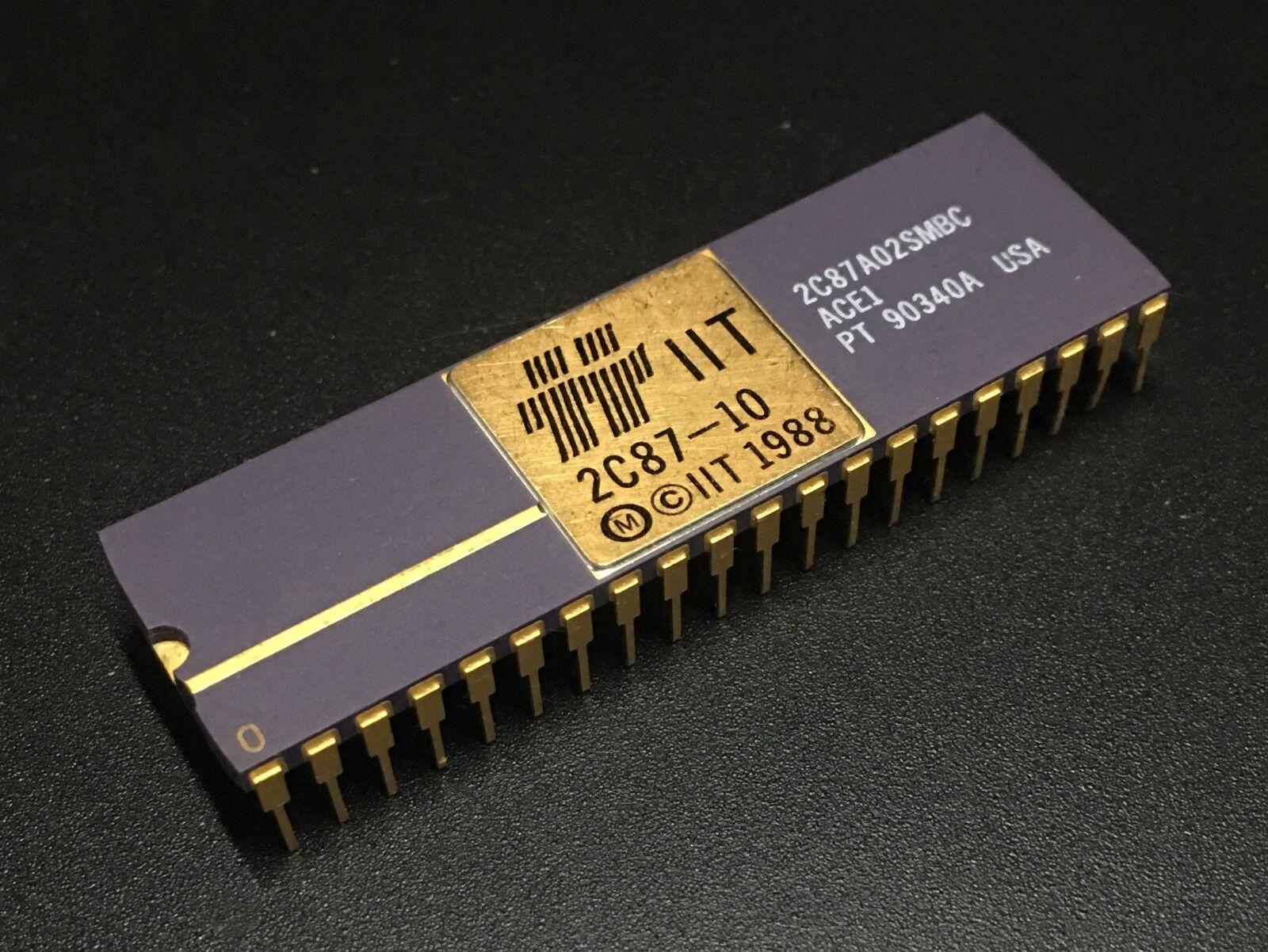 D80287-6 INTEL VINTAGE CERAMIC MATH CO-PROCESSOR D80287 NEW!! UK STOCK