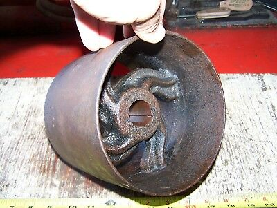 Cast Iron Belt Pulley Hit Miss Gas Engine Motor Steam Magneto Pump 1 316 Bore