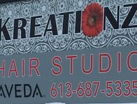 Hiring hairstylist and nail technician