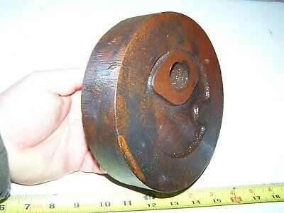 3hp Falk Hit Miss Engine Cylinder Head Casting Steam Magneto Tractor Oiler Cored