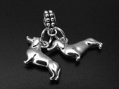 Weenie Charm for Brand Bracelets Dachshund Doxie Wiener Dog Sausage Dog Dackel ()