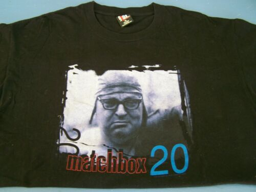 VINTAGE 1997 ORIGINAL MATCHBOX 20 YOURSELF SOMEONE LIKE YOU T SHIRT XL GIANT