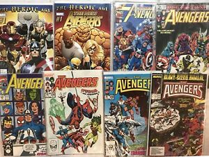 AVENGERS. NEW AVENGERS. Marvel comics.