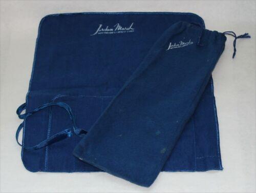 Jordan Marsh Sterling Silver Flatware Storage Bags - Set of 2