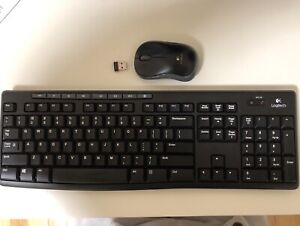 Logitech wireless keyboard and mouse combo