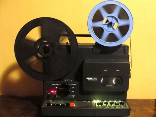 BAUER T-600 STEREO SOUND Movie PROJECTOR  ~SERVICED~