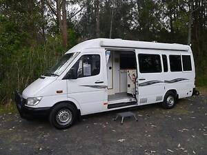 2001 Mercedes Benz Sprinter - Wallaby Motorhome West Gosford Gosford Area Preview