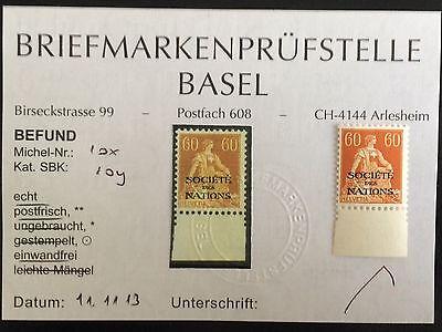 Schweiz postfrisch Mi. Nr. 10x SDN Aufdruck