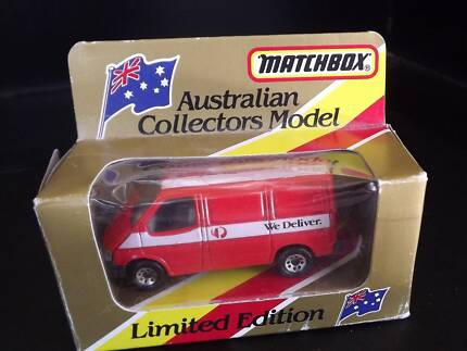 model car matchbox post office transit van bayswater post office
