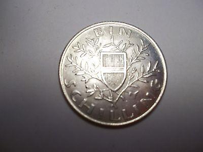 1 Schilling, Österreich, 1924, 800er Silber
