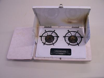 WEDGEWOOD  HIGH PRESSURE OUTDOOR COOKTOP STOVE/ WITH SHELF ( B)