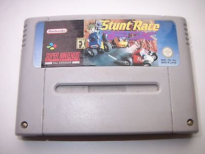 NINTENDO GAME STUNT RACE FX-SNES for sale  Shipping to Nigeria
