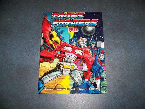Transformers UK Prey Titan Books Collection