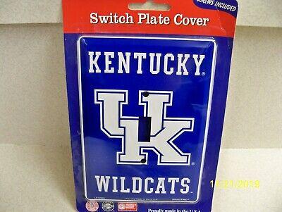 University of Kentucky Wildcats, NCAA football metal single light switch cover Kentucky Wildcats Ncaa Light