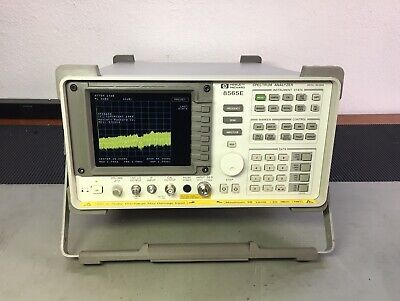 Hp Agilent 8565e Spectrum Analyzer 30 Hz - 50 Ghz W New Lcd Upgrade Calibrated