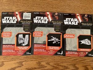 Star Wars Metal Earth Model Kits