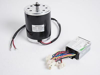 500w 24v Dc Electric Motor Kit With Control Box F Scooter Ebike Gokart Or Diy