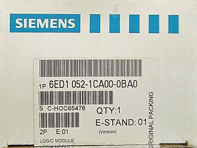 Siemens Logo 24 Logic Module 6ed1 052 1ca00 0ba0