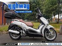 2010 Yamaha X-City 250cc Maxi Scooter with Warranty & 12 Month MOT