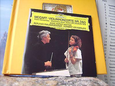 WOLFGANG AMADEUS MOZART  ++  VIOLIN KONZERTE NR. 3 UND 5  ++  CD / NEUWERTIG  ++