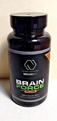 Alex Jones Infowars Health Brain Force Plus Diet Supplement