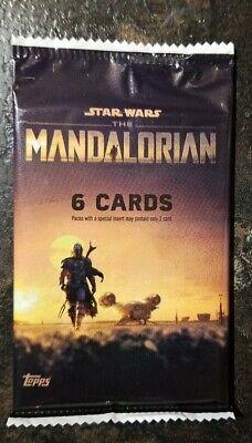 TOPPS STAR WARS THE MANDALORIAN SEASON 1 TRADING CARDS SEALED