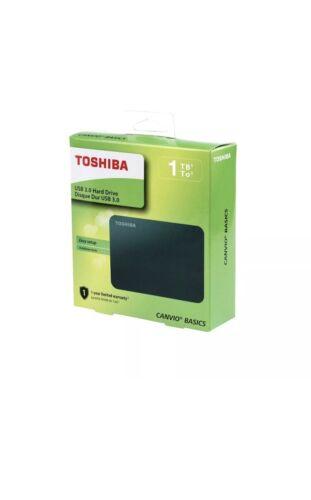 Toshiba HDTB410XK3AA Canvio Basics 1TB Portable External Har