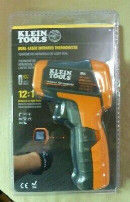 Klein Tool Ir5 Dual-laser Infrared Thermometer Sealed Free Shipping