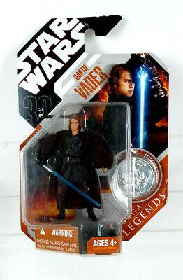 Hasbro Star Wars 30th Anniversary Legends Orange Darth Vader (Anakin) New 2007