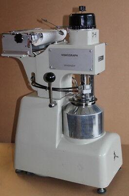 Starch Viscosity Tester 700 Cmg Head Viskograph Pt-100va-ve Brabender