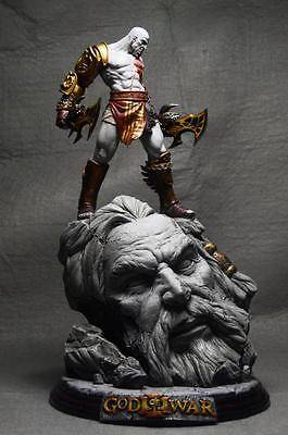 God Of War 10  Kratos Battle Resin Statue New