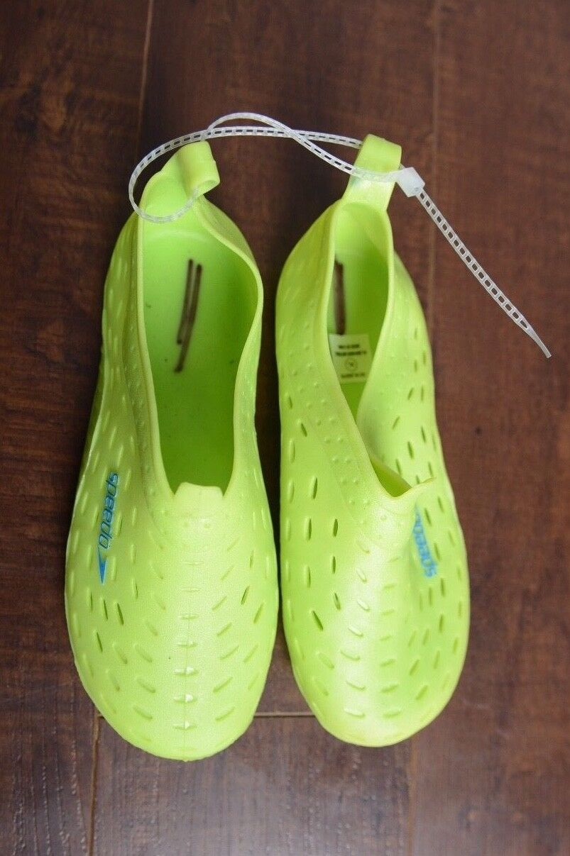 SPEEDO Kids Water Shoes for Little Swimmers Green Size XL 11