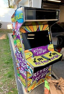 Arcade Machine/Cabinet - With TV/Speakers/Controls installed!!!!! PICK UP in NNJ