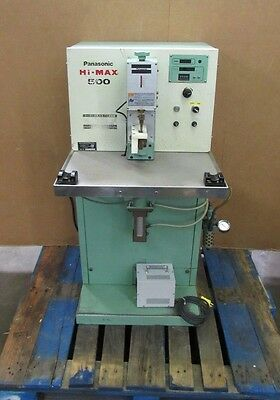 Panasonic Hi-max 500 Yg-508spa-3 Air Press Resistance Spot Welder 500w 1kva