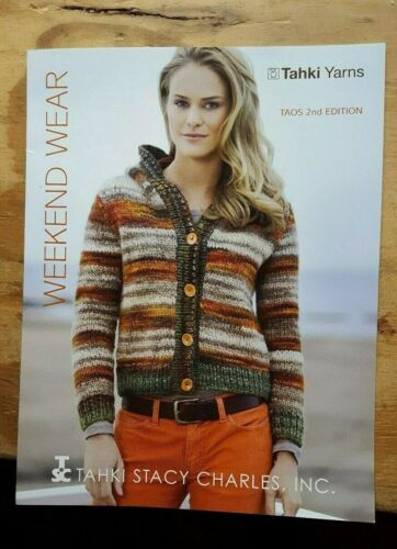 BONANZA SALE!!  RARE KNITTING PATTERN BOOK: WEEKEND WEAR BY TAHKI